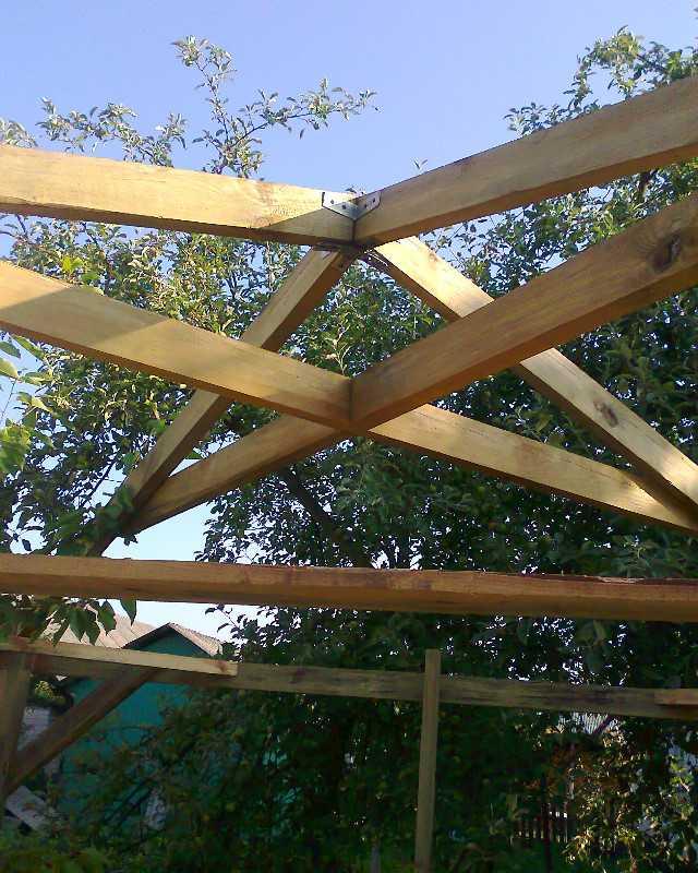 Устройство крыши для беседки своими руками фото 99