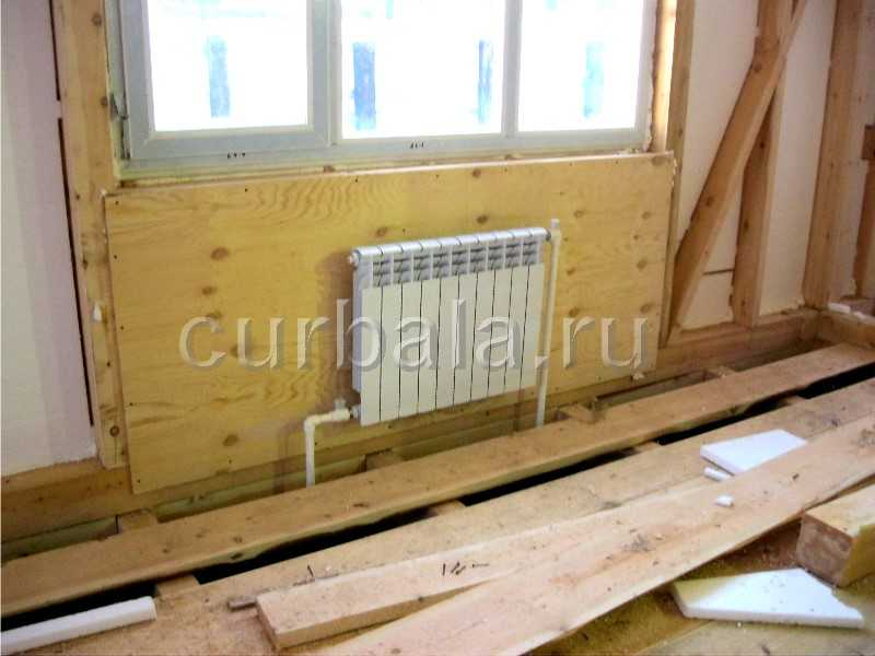 Отопление каркасного дома воздушное, водяное или теплый пол? Видео